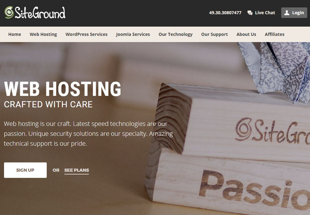SiteGround The Best Web Host For StartUps, Freelancers and Digital Nomads Consulting Kaiser 1