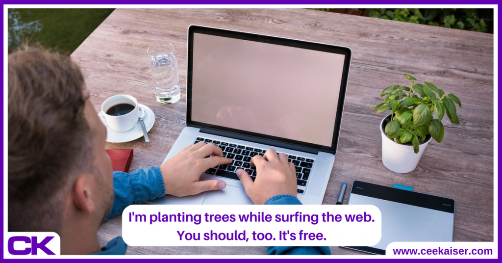 Ecosia Review Plant Trees For Free Share