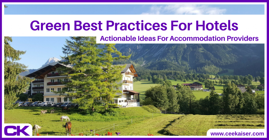 Green Best Practices For Hotels Final