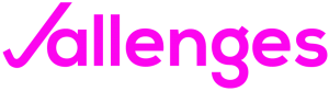 Jallenges Official Logo No Slogan Inverse Pink cropped png