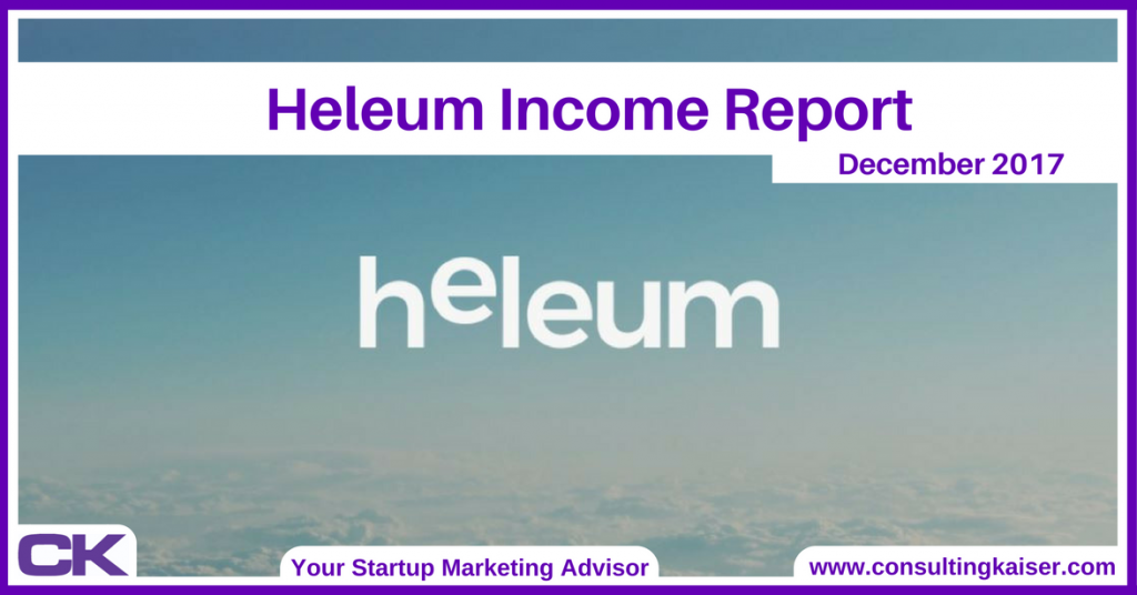 Heleum Income Report December 2017