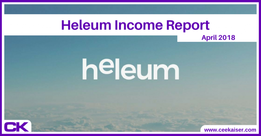 Heleum Income Report April 2018